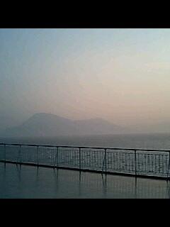 夕日の函館山