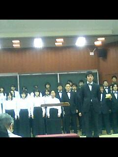 東大緑会合唱団in駒場祭