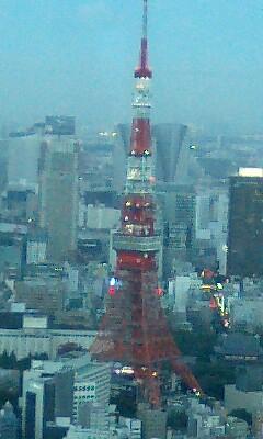 東京タワーとゴジラ?